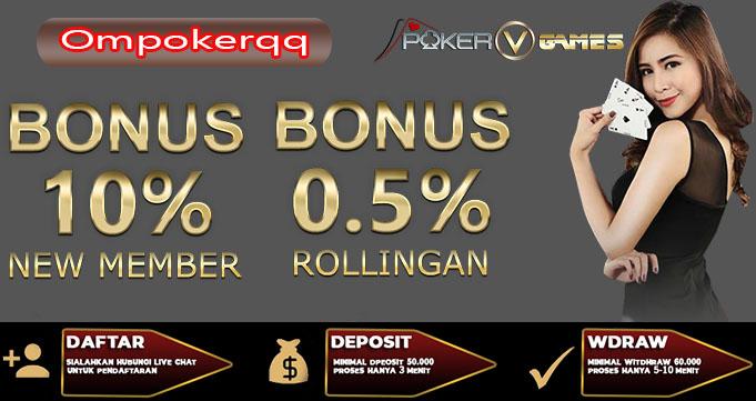 Situs PokerQQ Online Terbaik dan Terpopuler